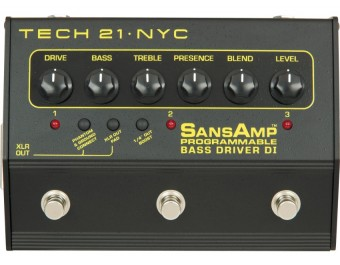 Tech 21 Bass Driver DI Programmable