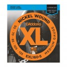DAddario EXL160-5 Bass