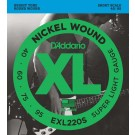 DAddario EXL220S Bass Short Scale
