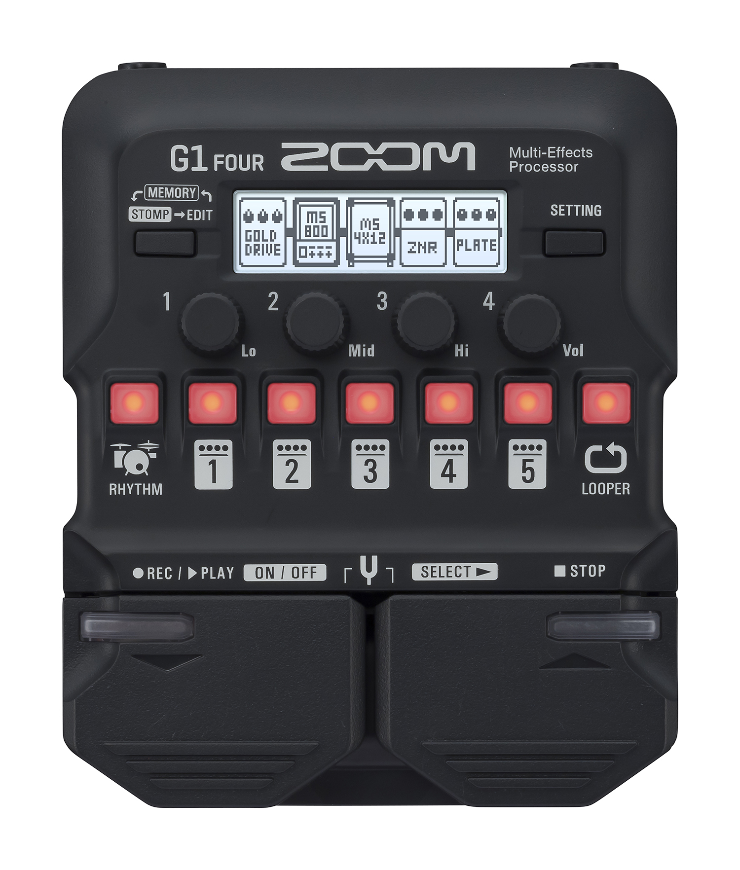 Zoom G1 Four Gitarren Multi Effekt 211734