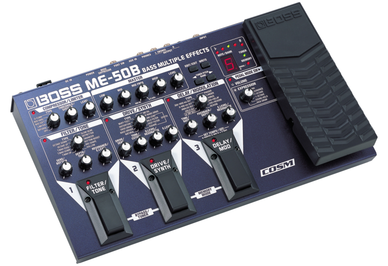 Boss ME-50 B E-Bass Multieffekt