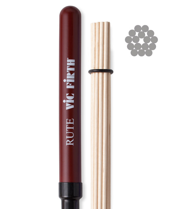 Vic Firth VFRute Rute Brushes Brushes / Besen