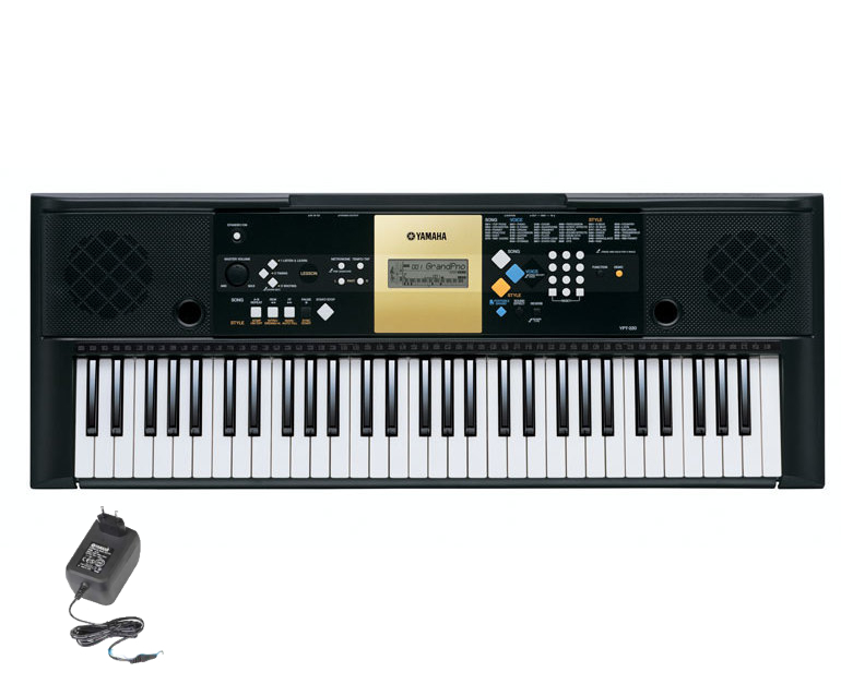 Yamaha YPT-220 Bundle Set 61 Tasten Keyboard