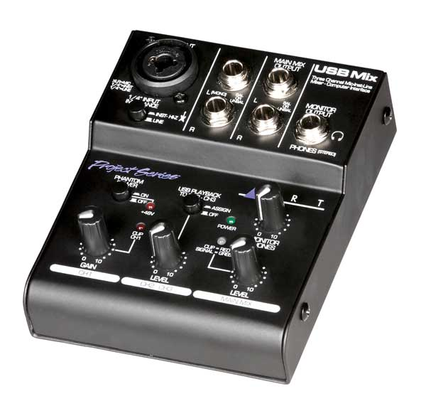 ART USB Mix kompakter USB Mixer 266776