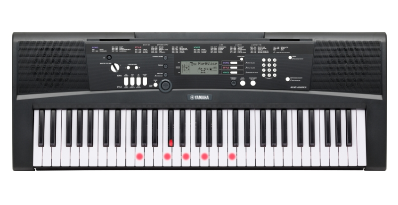 Yamaha EZ-220 Bundle Set Leuchttasten Keyboard 268704SET