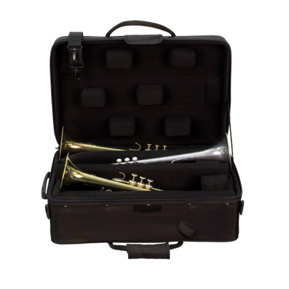 Protec IP-301T Koffer für 3 Trompeten mit Zubehörfach 271328