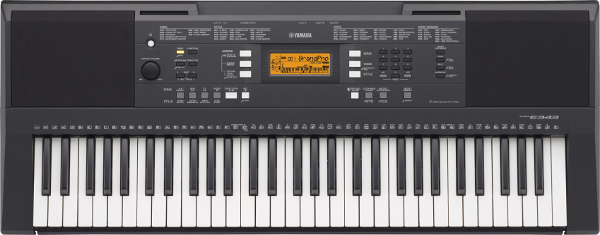Yamaha PSR E 343 Bundle Set Keyboard