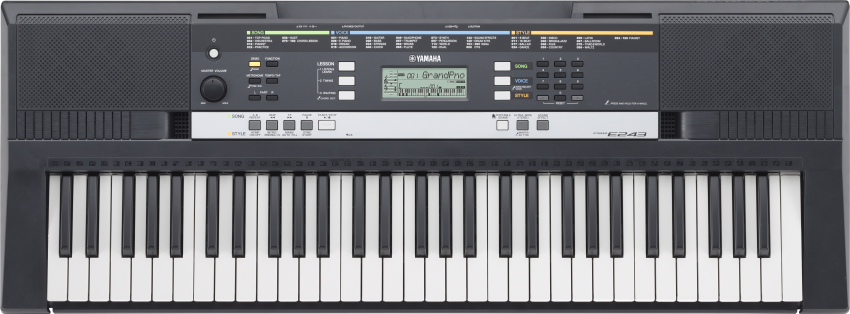 Yamaha PSR E 243 Bundle Set 61 Tasten Keyboard