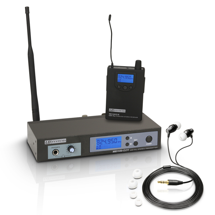 LD Systems MEI 100 G2 drahtloses In-Ear Monitoring 274266