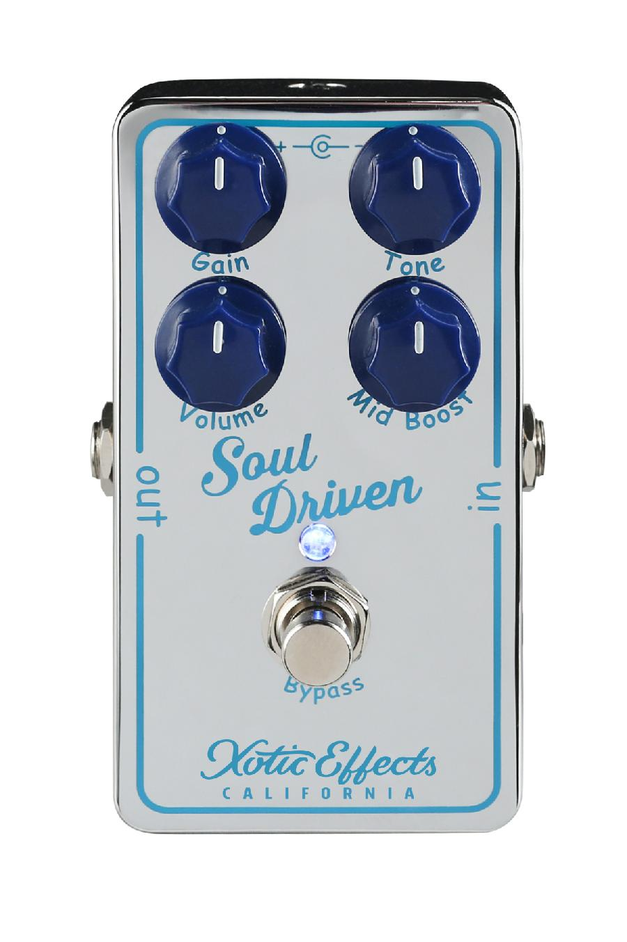 Xotic Soul Driven Boost/Overdrive 293468