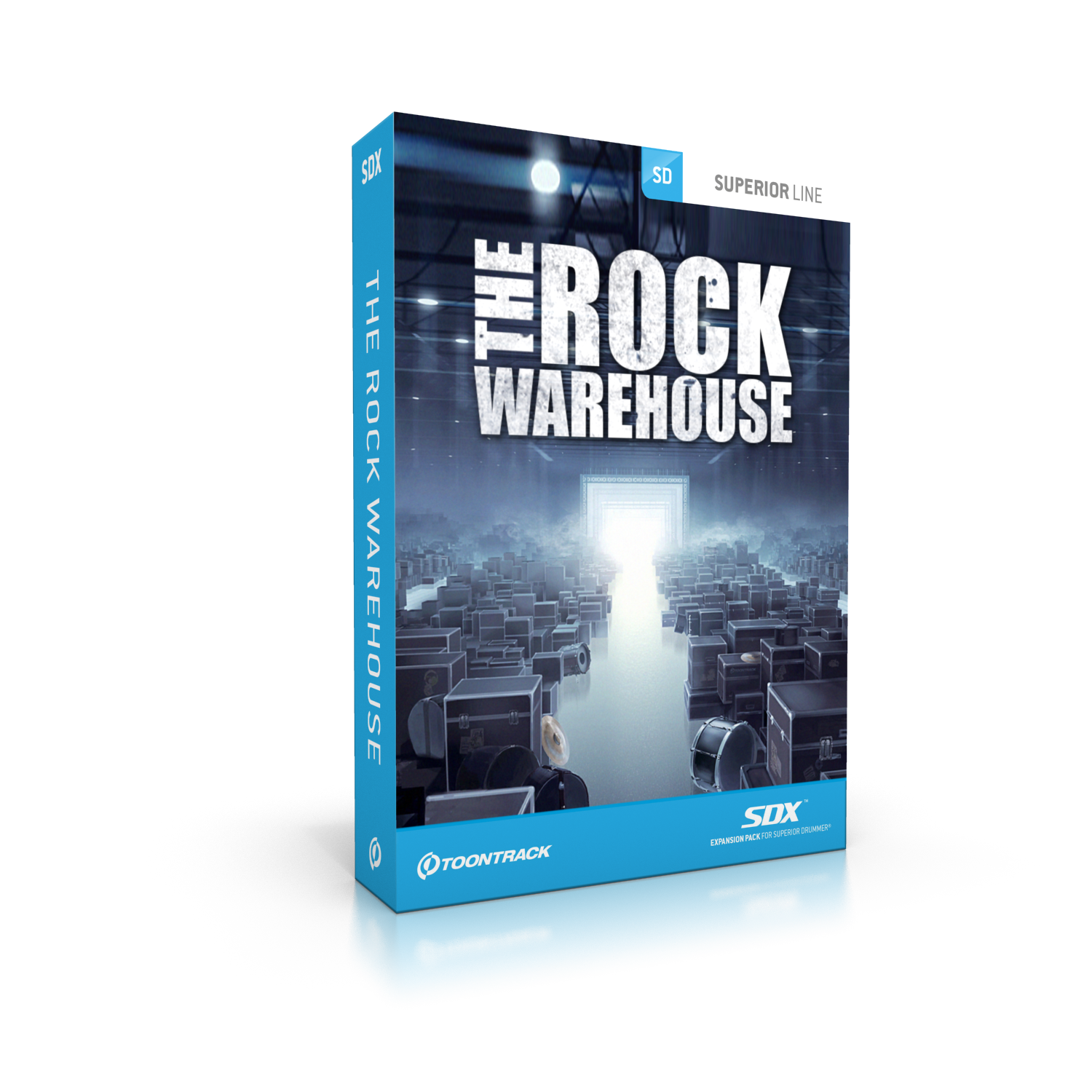Toontrack SDX The Rock Warehouse Sample-Library 296452