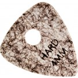soft oder hard 3 Stück 2,2 mm Ibanez Elastomer Triangel Picks Plektren