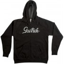 Gretsch Hoodie Logo Grau