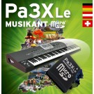 Korg PA-3XLe Musikant SD-Dongle