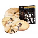 Zildjian K Custom Worship Pack