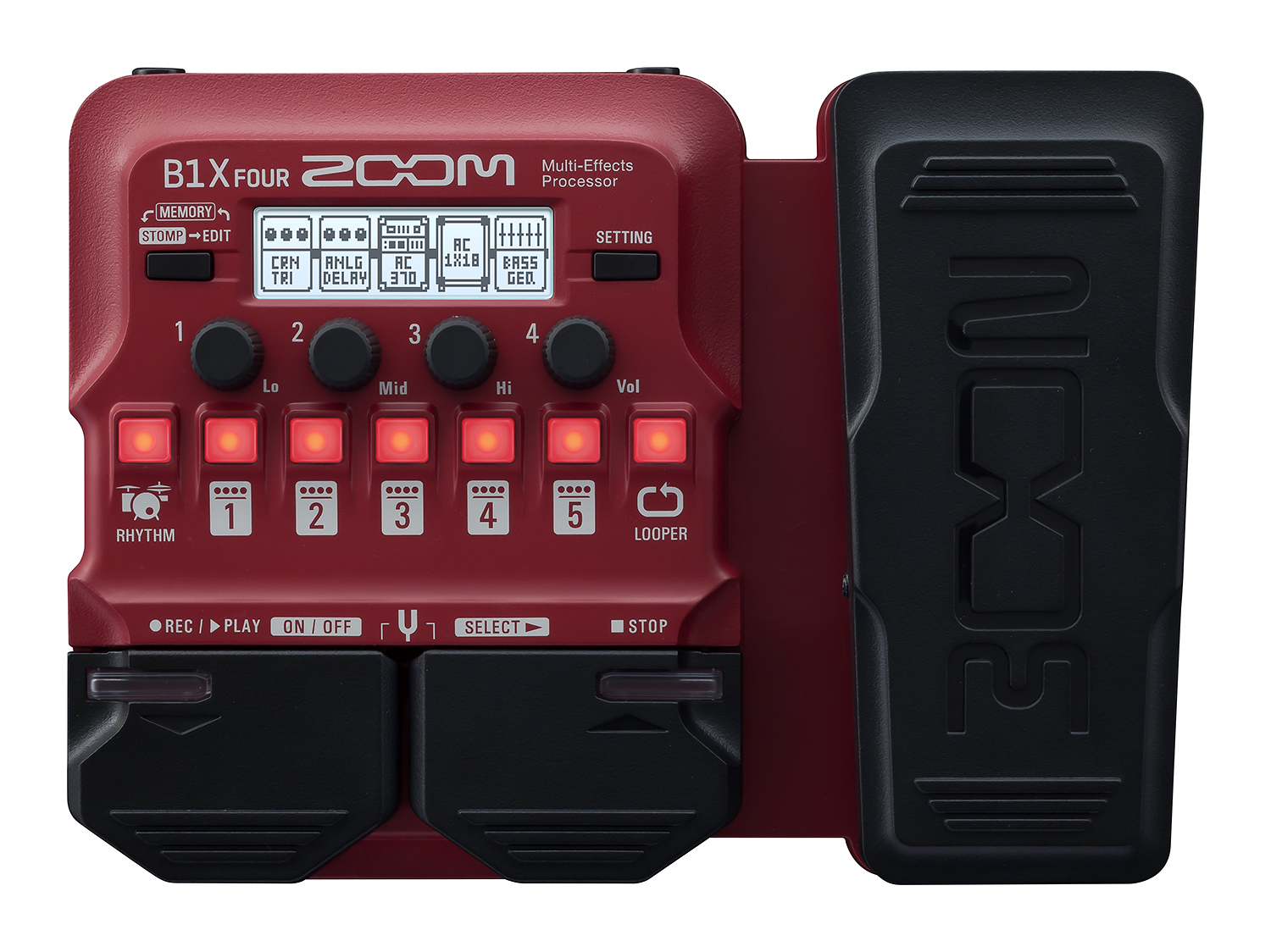 Zoom B1X Four Bass Multieffekt Prozessor 211735