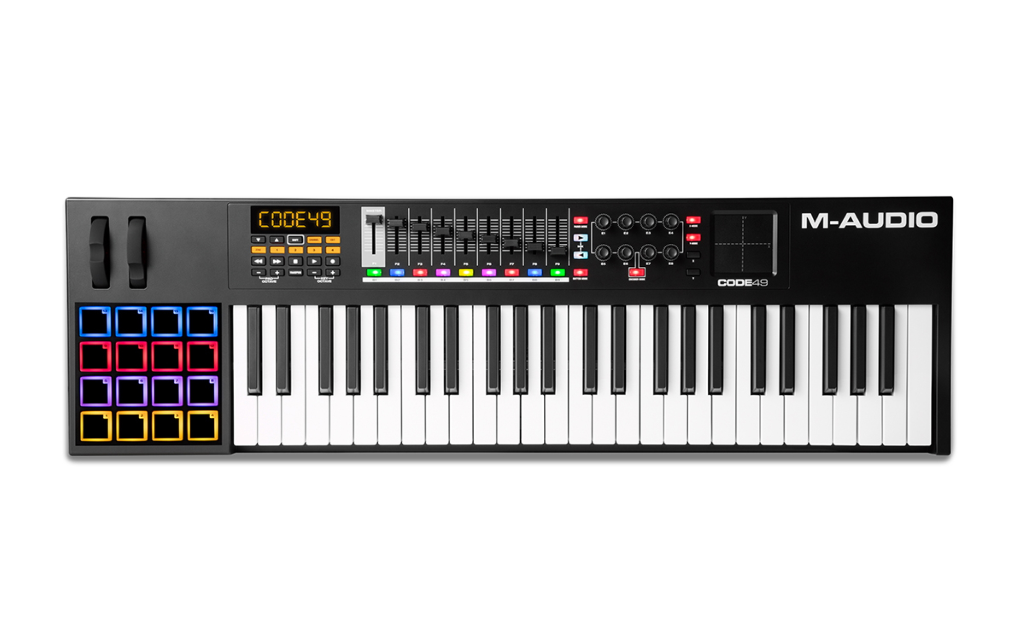 M-Audio Code 49 Black USB-Midi Controller 217787