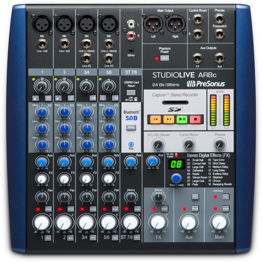 Presonus StudioLive AR8c Mischpult mit USB-Interface 219514