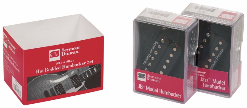 Seymour Duncan Hot Rodded Humbucker Set Black SH-2n & SH-4 JB 264320