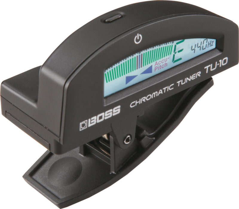 Boss TU-10 BK Black Stimmgerät / Clip-On Tuner 268485