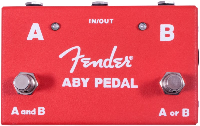 Fender ABY Pedal Footswitch 277958