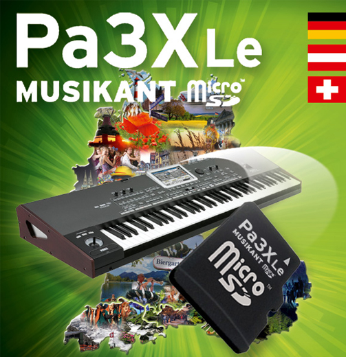 Korg PA-3XLe Musikant SD-Dongle für PA-3XLE 283555