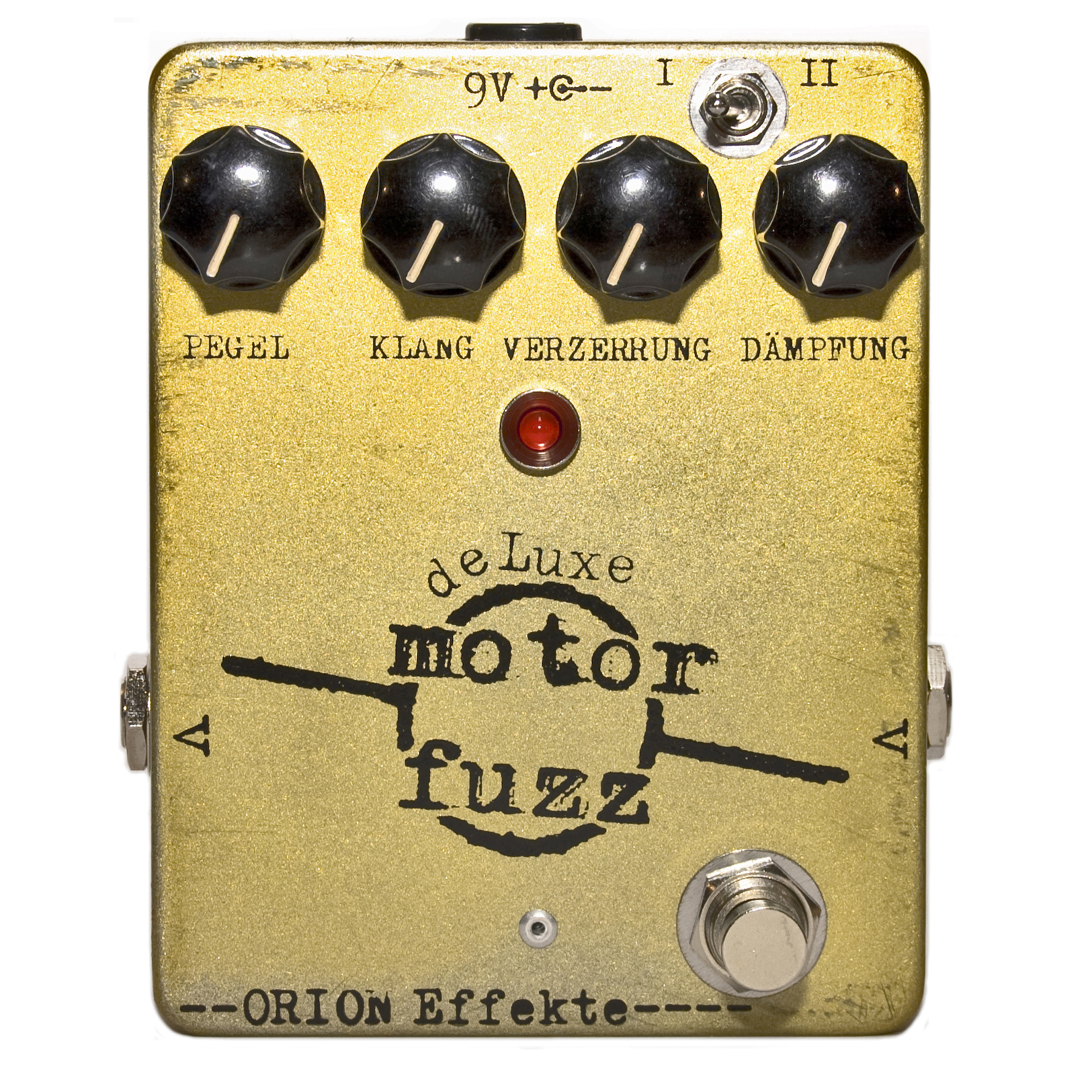 Orion Motor Fuzz Deluxe High Gain Fuzz 285629