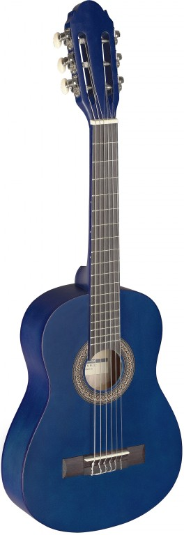 Stagg C-405 M BLUE 1/4 Kinder Gitarre - Blue 289787