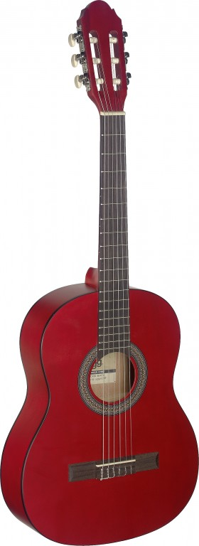Stagg C-430 M RED 3/4 Klassik-Gitarre - Red 290286