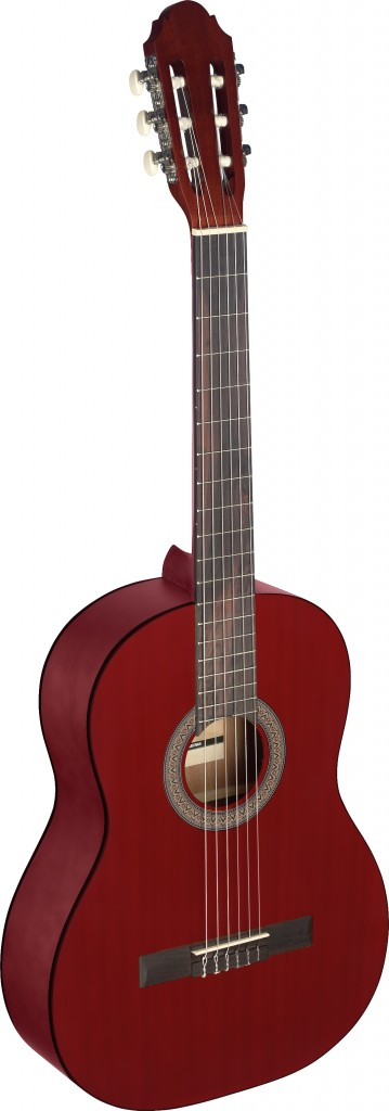 Stagg C-440 M RED 4/4 Klassik-Gitarre - Red 290287