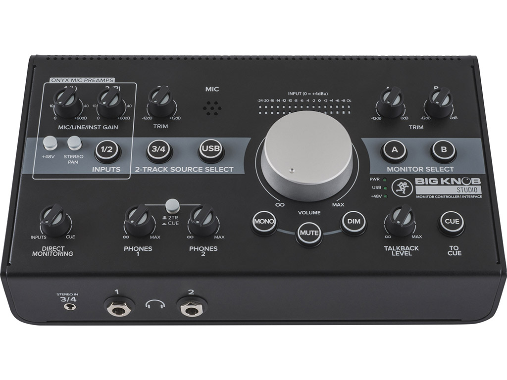Mackie Big Knob Studio Monitor Controller & Interface 294841