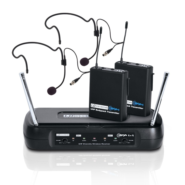 LD Systems ECO 2X2 BPH 2 Funkmikrofonset mit 2 Headset 298211