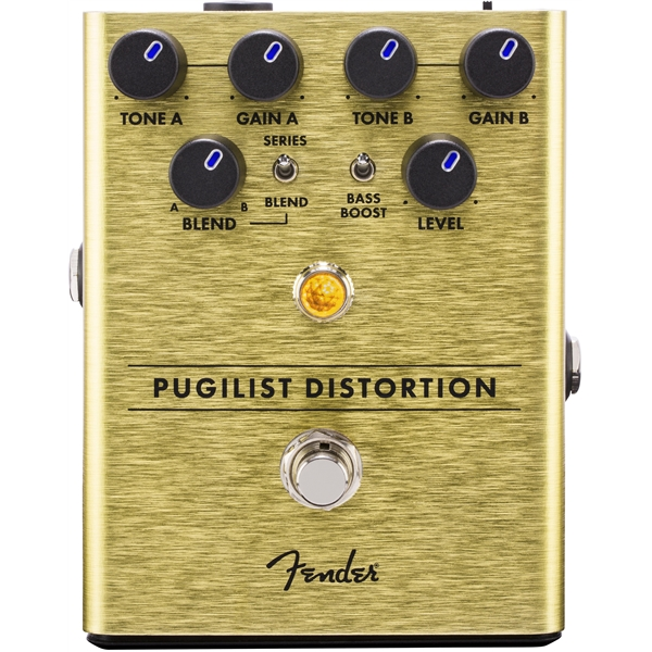 Fender Pugilist Distortion Pedal Distortion 299865
